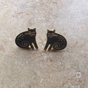 🍁🍂SALE🍂🍁🌿Vintage Laurel Burch Earrings 🌿
